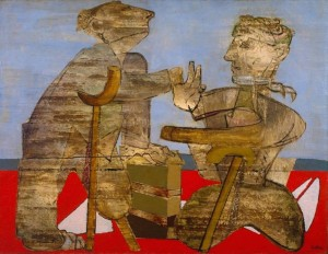 The Mutilated 1942-3 Jankel Adler 1895-1949 Presented by Robert Strauss 1960 http://www.tate.org.uk/art/work/T00372
