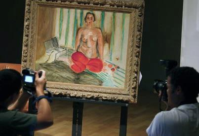 The returns of Matisse's painting raises the question about Venezuela Krasas Museum