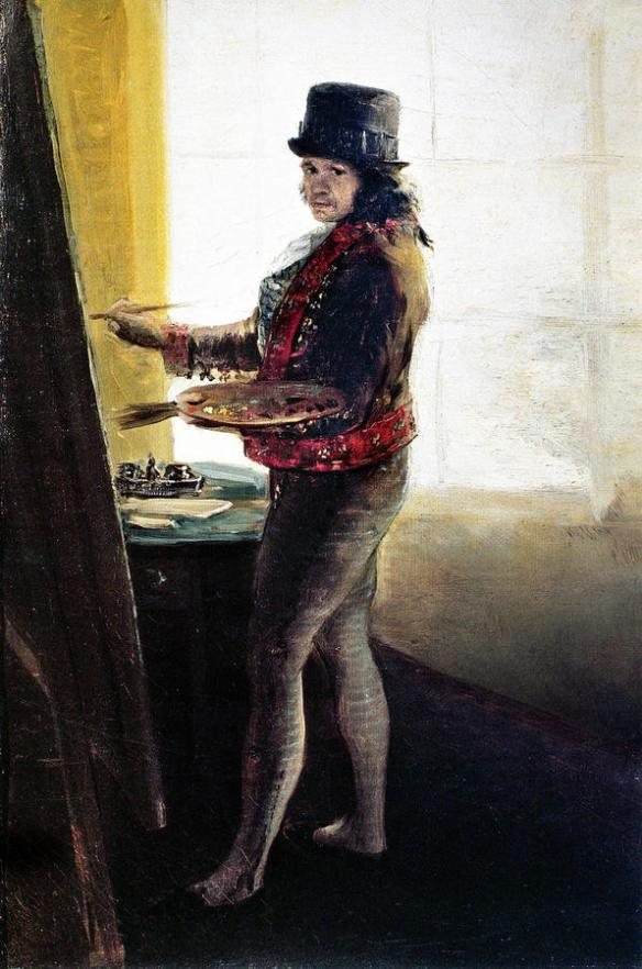 A master theft of Goya's portrait was a Family affair